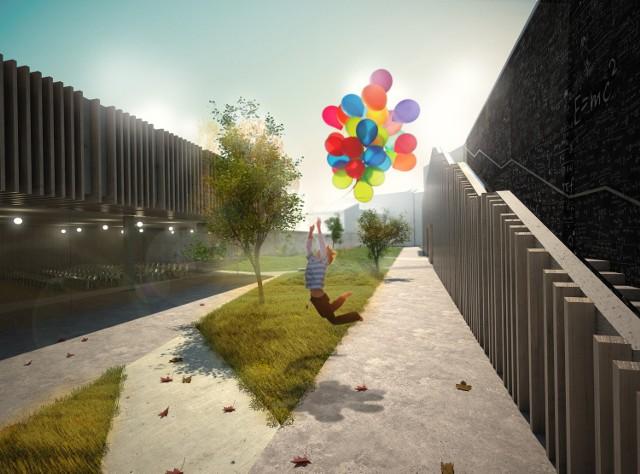 Projekt Centrum Kreatywności Młodych przy ulicy Cyruliczej w Lublinie