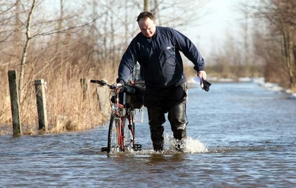 Tarnobrzeg zalany
