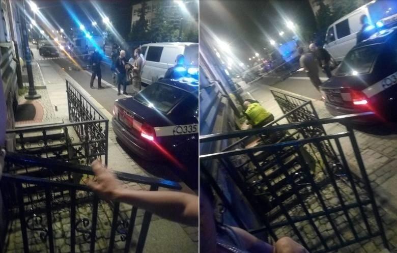 Do zabójstwa doszło przy ul. Warszawskiej