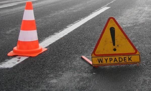 Kolizja na skrzyżowaniu ul. Twardowskiego i Mickiewicza w Szczecinie