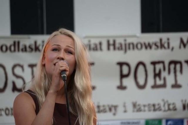 Julita Wawreszuk otworzyła koncert w 2014 roku