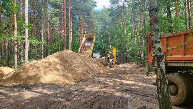 Trasa turystyczna Dawna Kopalnia Babina w geoparku Łuk Mużakowa, w Łęknicy zostanie przedłużona o czterokilometrowy odcinek