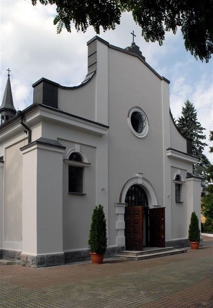 Tak wygląda obecnie  kościół pw. św. Jozafata w Komorowie.