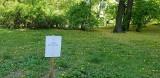 Część parku Staszica w Łodzi została oddana prywatnemu właścicielowi. Spacerujący są zdziwieni, a oznaczenia niszczone