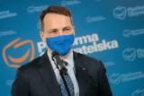 Andrzej Halicki odcina się od słów Radosława Sikorskiego. Chodzi o wpis skierowany do Beaty Kempy