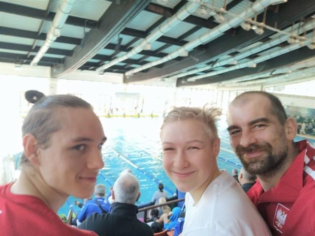 Reprezentanci świebodzińskiego klubu pływackiego Totis Viribus na otwartych mistrzostwach Czarnogóry - luty 2020
