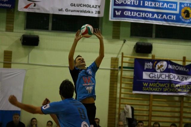 Z piłką rozgrywający Juve Grzegorz Malina.