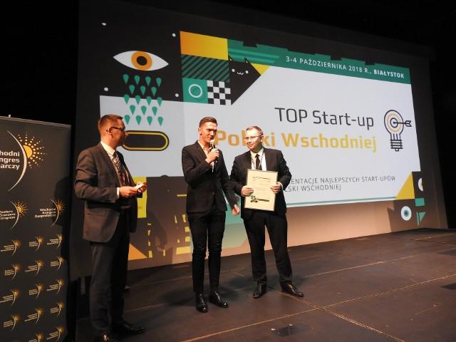 Łukasz Skłodowski (z prawej) i Grzegorz Ciwoniuk, czyli firma Elastic Cloud Solutions – TOP Start-up Polski Wschodniej