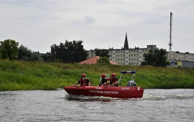 W ramach działań Warta 2021 ćwiczono w Skwierzynie procedury na wypadek wystąpienia powodzi.