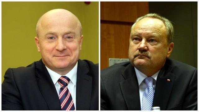 Jarosław Stawiarski, nieoficjalnie kandydat na wiceministra sportu i turystyki w rządzie PiS. Janusz Szewczak, prawnik i publicysta ekonomiczny, przymierzany jest do kilku resortów w rządzie
