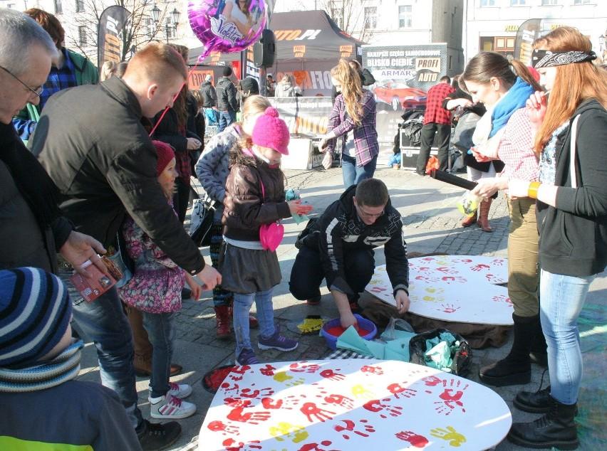 Chełmińskie Walentynki to był hit! Do miasta zakochanych przybyły tysiące osób [zdjęcia]