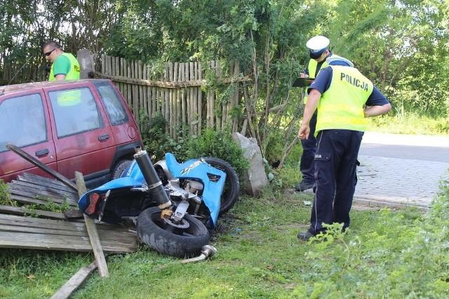 Okoliczności tego tragicznego w skutkach wypadku wyjaśniają pod nadzorem prokuratury szubińscy policjanci.