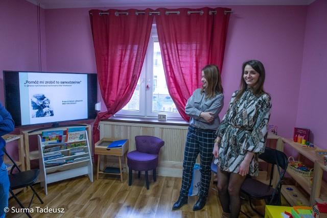 Domowe Montessori Klub Malucha Stargard działa przy ulicy Reymonta 18