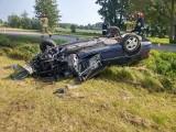 Wypadek w Czarni. Zobaczcie zdjęcia