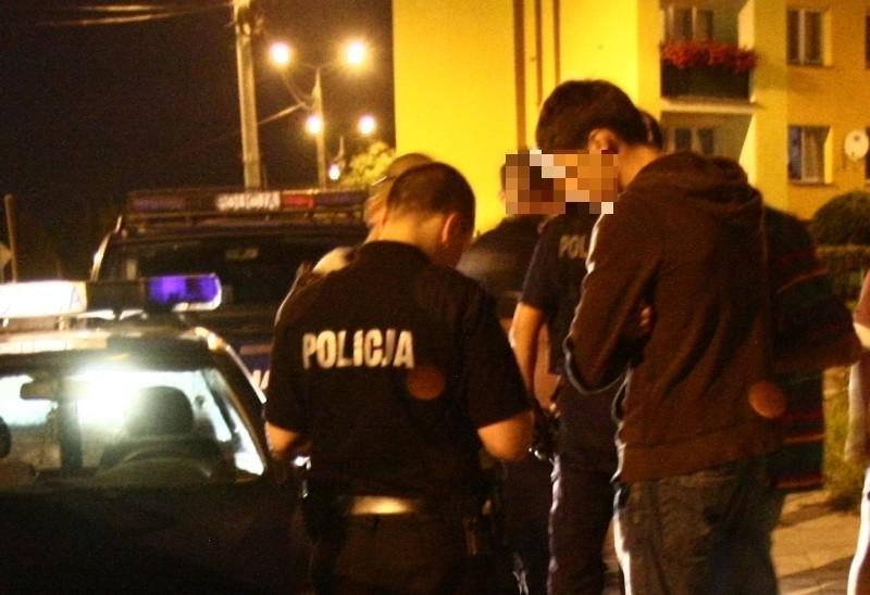 Policja szybko zatrzymała dwóch bandytów z gminy Lipsk. Byli mocno pijani