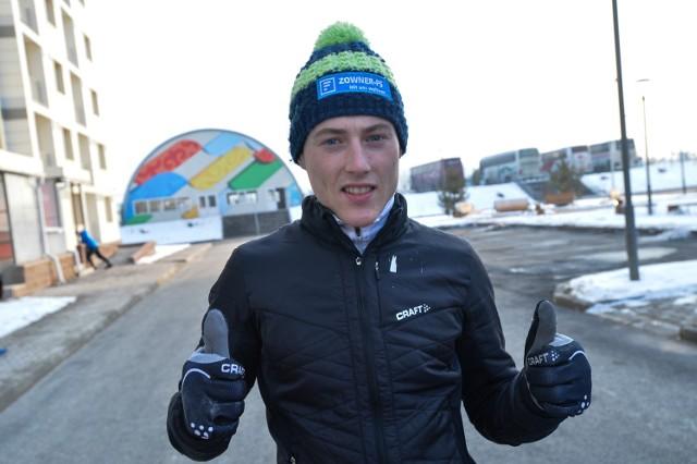 Adam Cieślar jest faworytem do złota 28. Zimowej Uniwersjady w kombinacji norweskiej