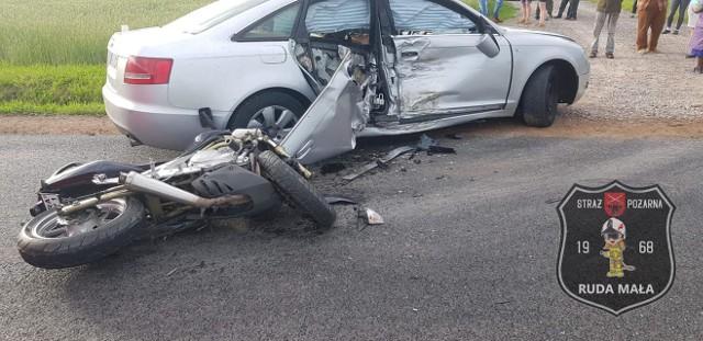 29–letni motocyklista zginął w gminie Kowala