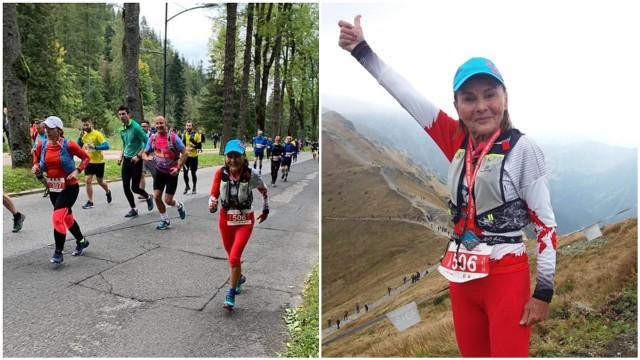 Barbara Prymakowska już po raz dziesiąty podczas zawodów wbiegła na Kasprowy Wierch