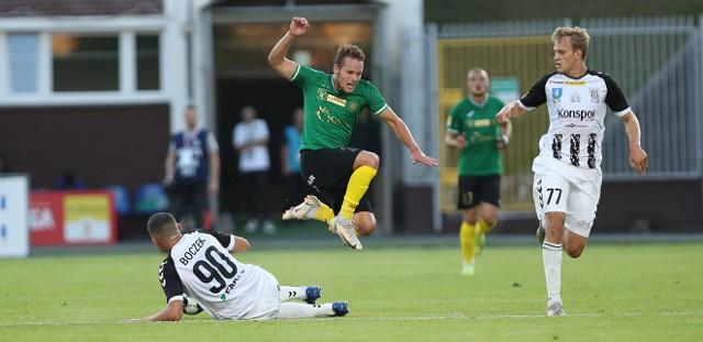 Piłkarze GKS Jastrzebie przegrali z Sandecją 0:3
