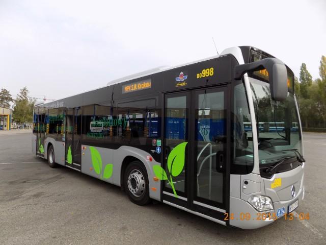 Nowy autobus w Krakowie