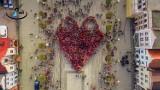 Kolejny Rekord Guinnessa pobity w Pucku. Największe serce w Polsce biło na Starym Rynku. W Pucku utworzyło je 1381 osób  [zdjęcia, wideo]