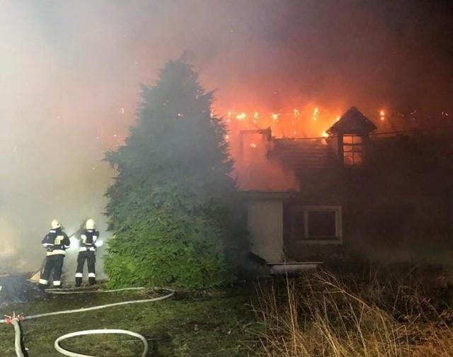 Do tragicznego w skutkach pożaru doszło we wsi pod Nową Solą