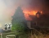 Tragiczny pożar pod Nową Solą. W spalonym domu odnaleziono ciało
