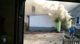 Gniezno: Pożar kotłowni przy jednym z domów. Rodzinie potrzebne są środki na remont