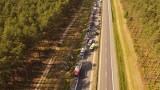 Groźny wypadek na S3 pod Nietoperkiem. Osiem osób trafiło do szpitali w Lubuskim i Wielkopolsce [NOWE FAKTY]