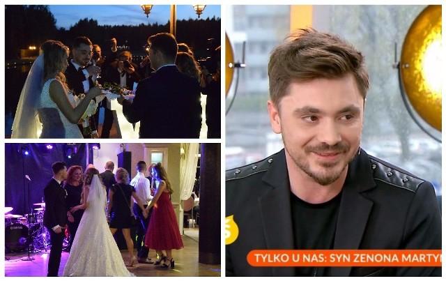 Ślub i wesele Daniela Martyniuka. Syn Zenka zdradził kulisy swojego ślubu