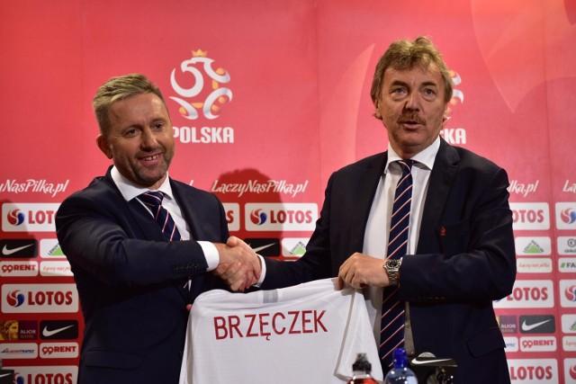 23 lipca 2018 - Brzęczek zaprezentowany w roli następcy Nawałki