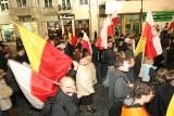 """Manifestacja - """"Dzień Gniewu"""" na Piotrkowskiej w Łodzi [zdjęcia]"""