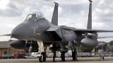 Powidz: Samolot myśliwski F-15 wylądował awaryjnie w wojskowej bazie - nic nikomu się nie stało