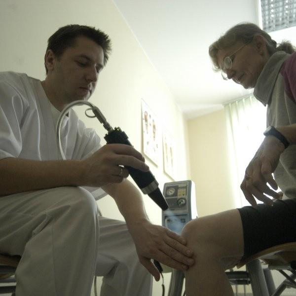 Rehabilitacja w sanatorium w Kamieniu Śląskim.