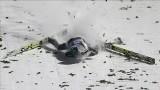 Stan Simona Ammanna po groźnym upadku w Bischofshofen jest stabilny (wideo)