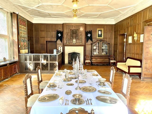 W zeszłym roku wnętrza pałacu po raz pierwszy od dawna udostępniono zwiedzającym.
