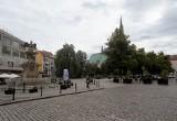 Trawnik przedmiotem kolejnego spięcia wokół placu Orła Białego w Szczecinie