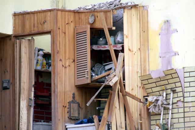 Drewniana altanka działkowa zawaliła się w sobotnie późne popołudnie na terenie Solca Kujawskiego.