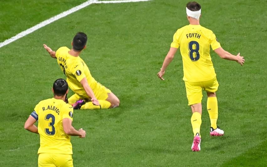 Finał Ligi Europy: Villarreal CF - Manchester United 1:1