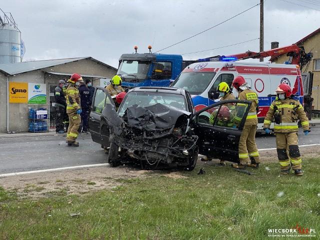 W wypadku w Wituni poszkodowany został 63-letni mieszkaniec gminy Więcbork