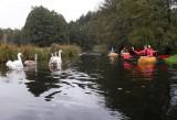 Wiosłami odmierzyliśmy kilometry na kaszubskim szlaku pięciu rzek