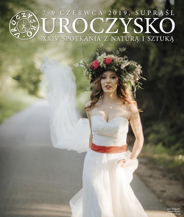 """Plakat promujący XXIV Spotkania z Naturą i Sztuką """"Uroczysko"""" 2019"""
