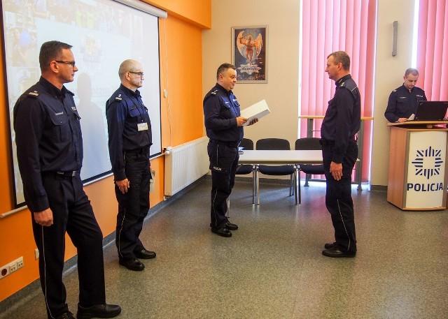 Odprawa roczna policji w Świebodzinie
