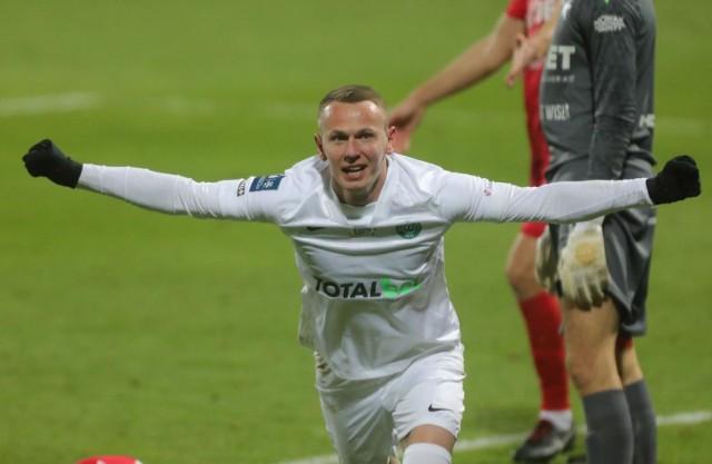 Mateusz Kuzimski strzelił w obu meczach z Wisłą Kraków. Znowu jego gol był na wagę trzech punktów.