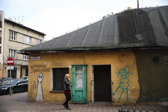 Tak obecnie wyglądają zabudowania przy ul. Węgierskiej i Józefińskiej