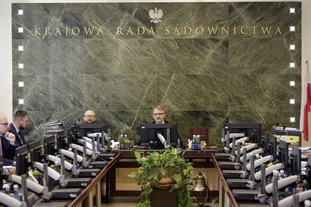 Obrady KRS w Warszawie w październiku 2018 r.