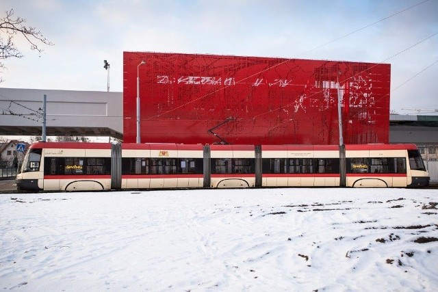 Pojazdy komunikacji miejskiej w Gdański przy niższych temperaturach są ogrzewane