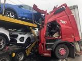 Tragiczny wypadek na DK 61. Nie żyje jedna osoba