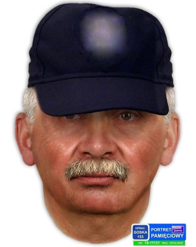 Portret pamięciowy sporządzony przez policję.