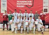Sukces Uniwersytetu Zielonogórskiego na Akademickich Mistrzostwach Polski w futsalu